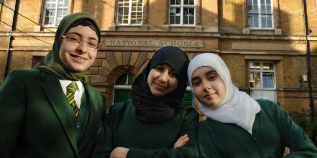 Salah Satu Sekolah Islam Inggris Meraih Prestasi