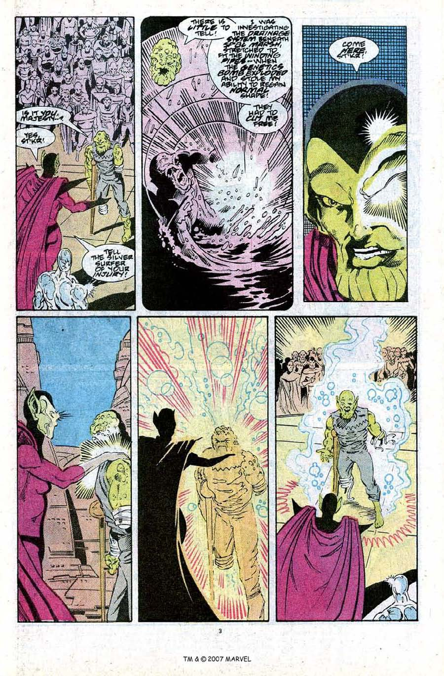Read online Silver Surfer (1987) comic -  Issue #27 - 5