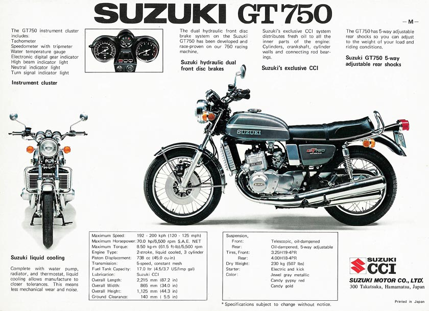 STRANGER BLOG: OLD SUZUKI ADS