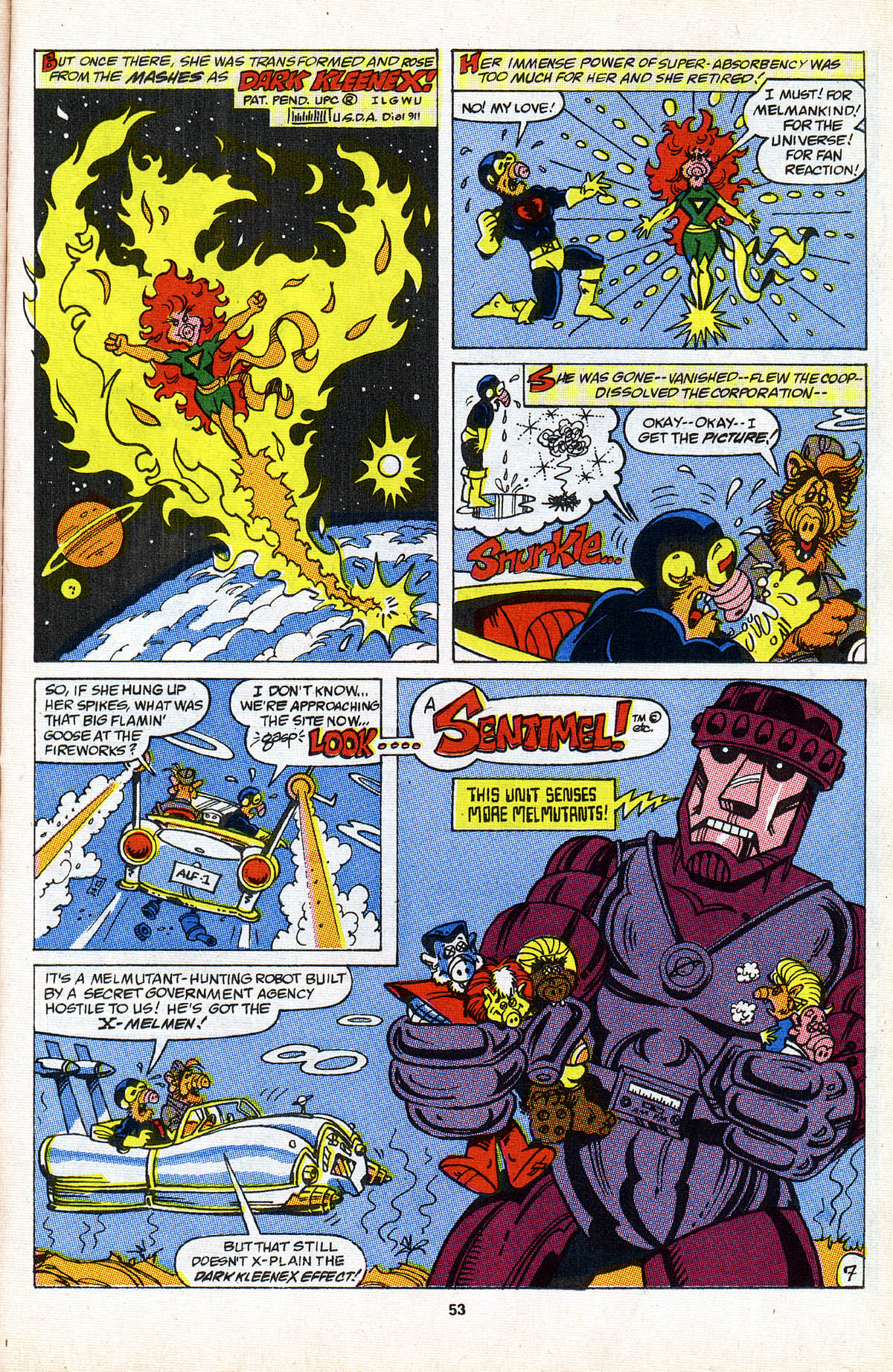 Read online ALF comic -  Issue #2 - 54