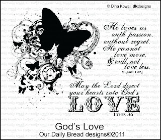 Our Daily Bread Designs, God's Love