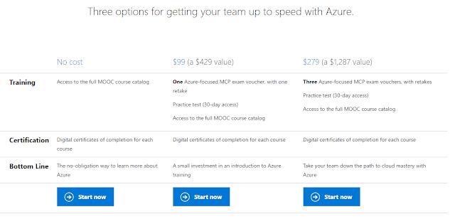 azure - Corsi per Windows Azure disponibili gratuitamente!