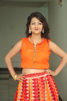 Shubhangi Bant in Orange Lehenga Choli Stunning Beauty ~  Exclusive Celebrities Galleries 069.JPG