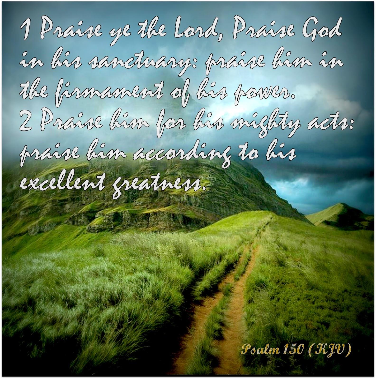 psalm 150 kjv