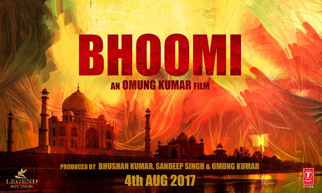 """Teaser Poster of Sanjay Dutt's """"Bhoomi"""" Movie"""