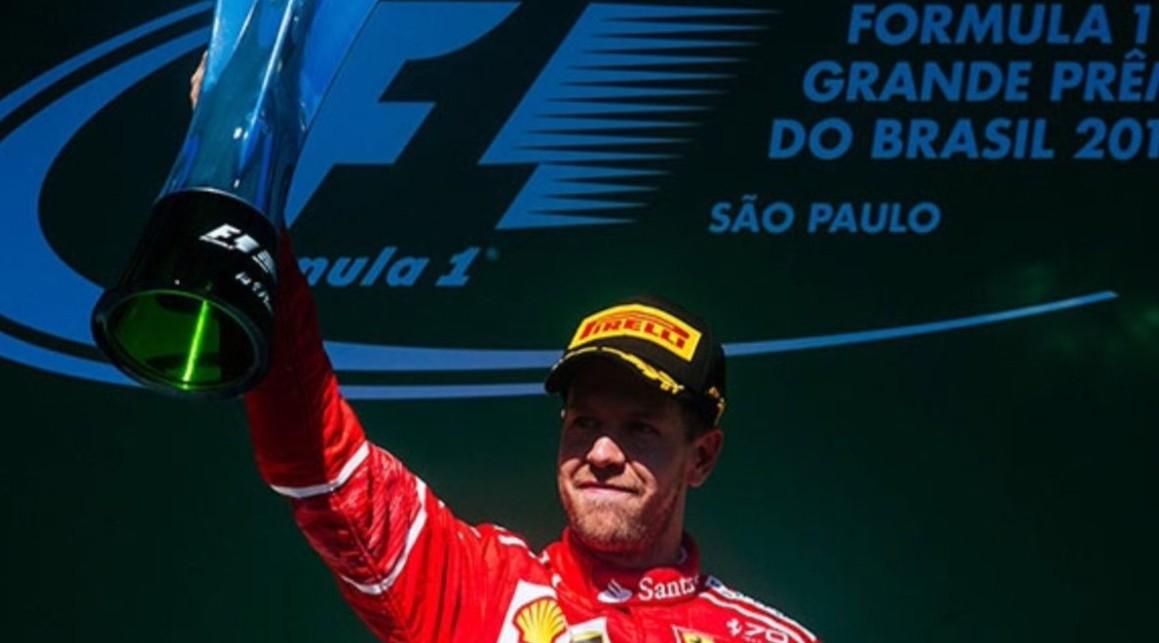Vettel su Ferrari vince in Brasile con incredibile rimonta di Hamilton | Formula 1 2017