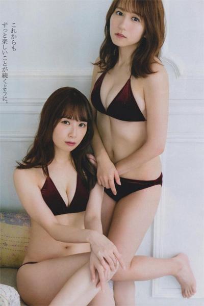 Akane Takayanagi 高柳明音, Mina Oba 大場美奈, BOMB! 2019.01 (ボム 2019年1月号)