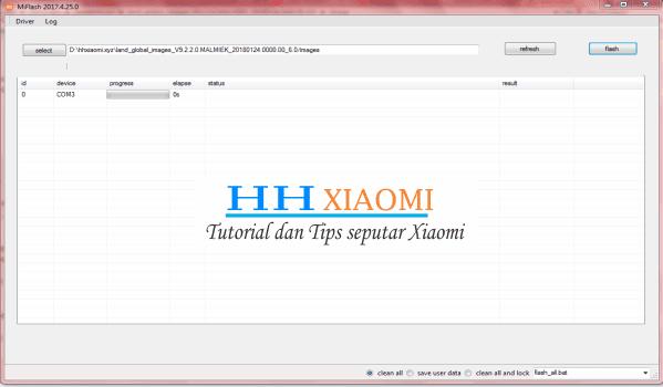 Cara memperbaiki xiaomi Redmi 3S / 3X / 3S yang Bootloop / softbrick