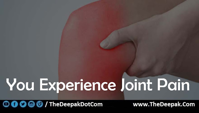 03 Joint Pain - Signs You are Not Drinking Enough Water