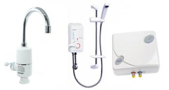 Momentiniai elektriniai vandens šildytuvai