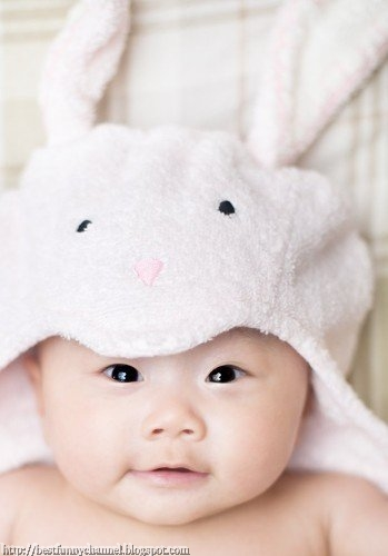 Cute baby in a hat