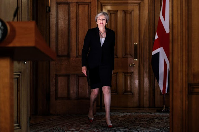 Theresa May claims to be enacting the will of the people.