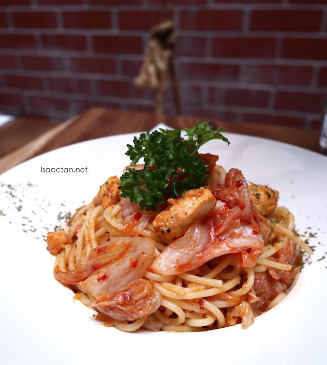 Chicken Kimchi Spaghetti (RM15.00)