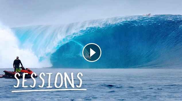 Is this Cloudbreak s biggest swell ever Sessions