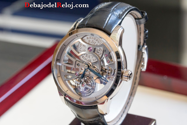 ULysse Nardin Executive Skeleton Tourbillon Manufacture