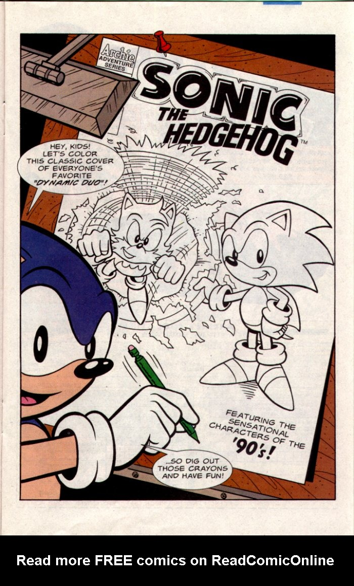 Read online Sonic The Hedgehog comic -  Issue #20 - 12
