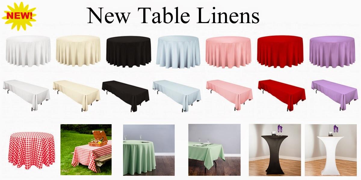 Magic Jump Rentals Table Linen Rentals For The Elegant Look