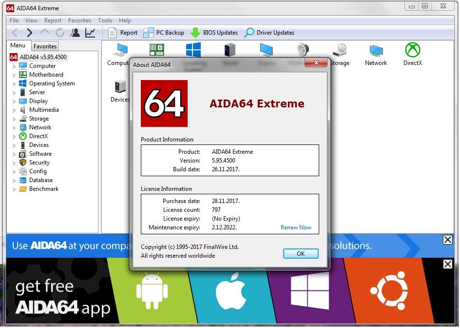 aida64 extreme 5.95 product key