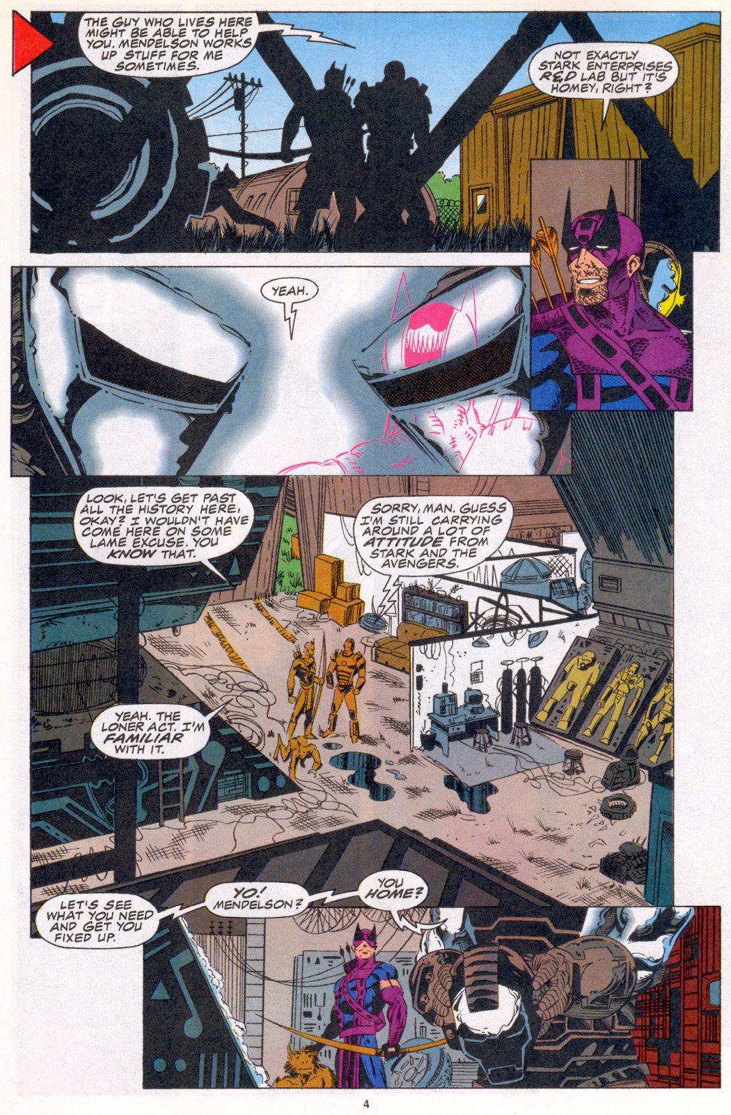 Hawkeye (1994) Issue #3 #3 - English 4