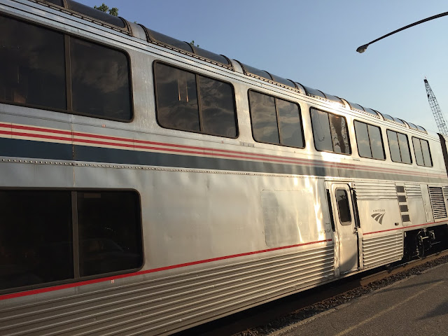 The Observation Car on the Empire Builder.