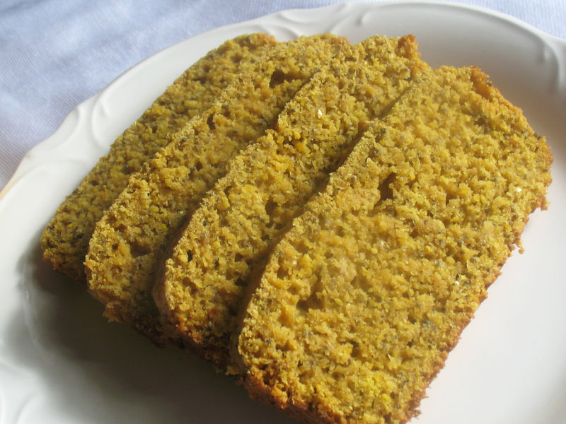 Vegan Lemon Cake Loaf Pan