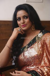 Udaya Bhanu lookssizzling in a Saree Choli at Gautam Nanda music launchi ~ Exclusive Celebrities Galleries 028.JPG