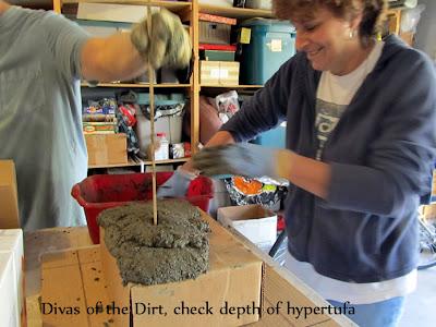 Divasofthedirt,check depth hypertufa