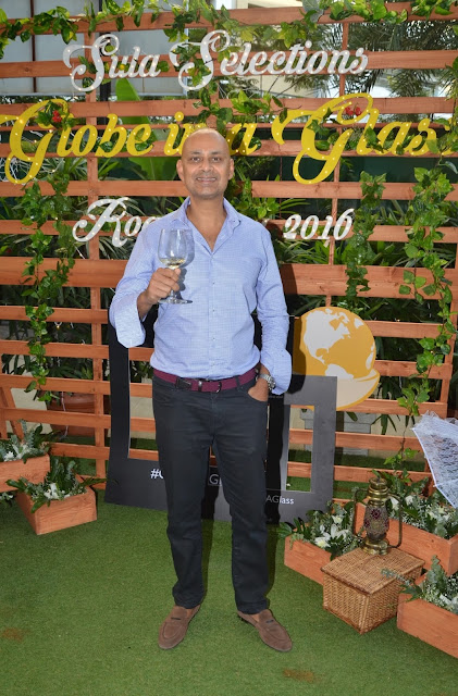 Rajeev Samant, Founder and CEO, Sula Vineyards at Sula Selections 'Globe in a Glass' Roadshow 2016