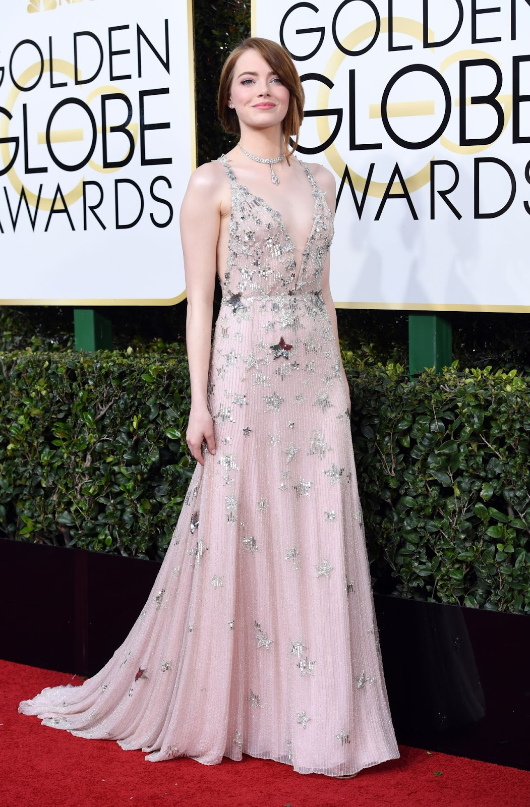 Emma Stone – Golden Globe Awards in Beverly Hills
