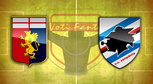 Genoa Sampdoria formazioni ufficiali