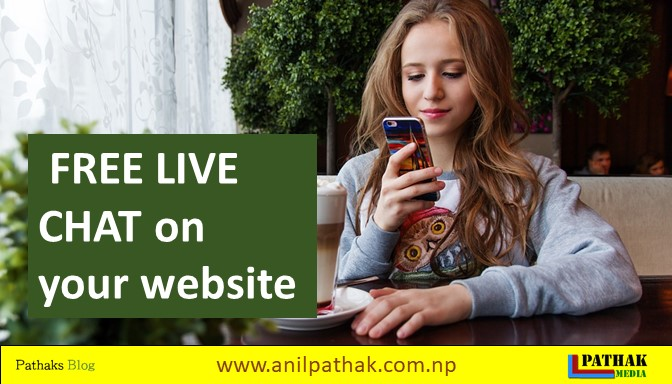free live chat features on your website
