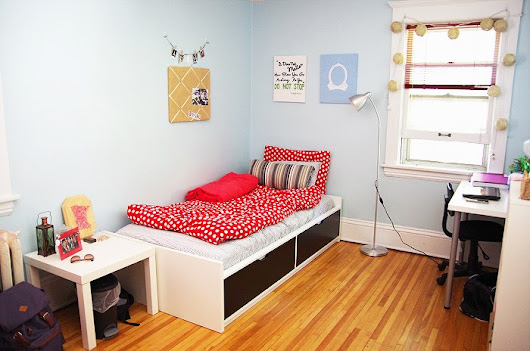 Back To School 2014: College Room Tour, DIYs, Decorating Ideas