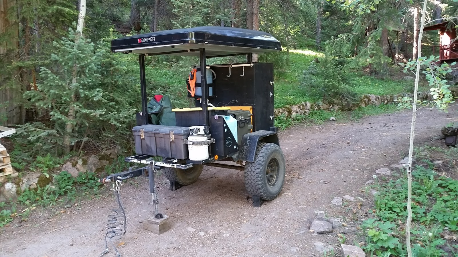 m416 offroad jeep trailer project