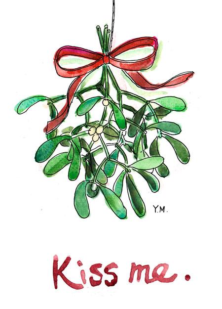 Mistletoe by Yukié Matsushita