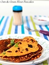 Oats And Gram Flour Pancakes
