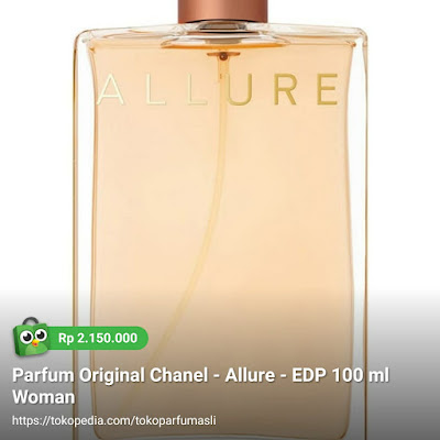 toko parfum asli parfum original chanel allure edp 100ml woman