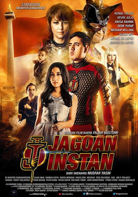 Poster Film Jagoan Instan