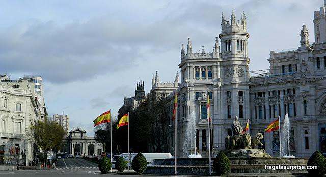 Madri, Espanha, Fonte das Cibeles