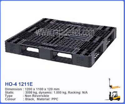 Pallet Plastik HO-4 1211  E