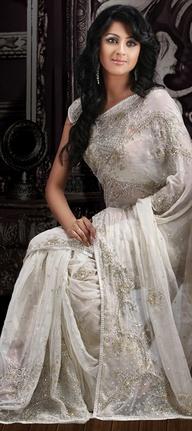 she fashion club white indian bridal dresses