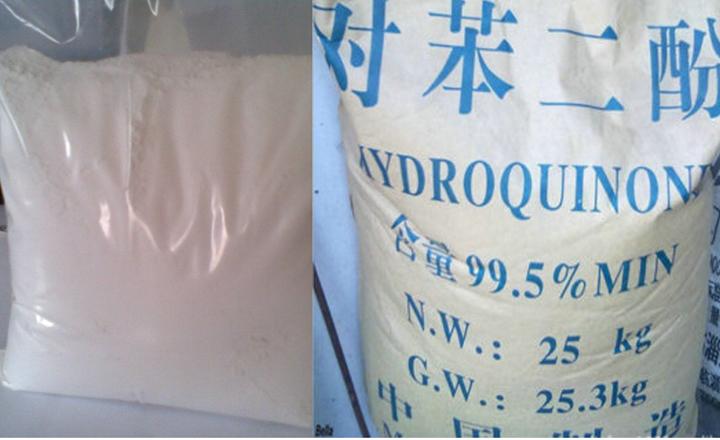 Hydroquinone timbang kilo