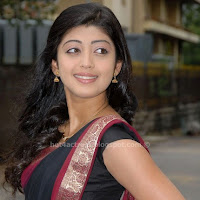 Pranitha hot stills in saree