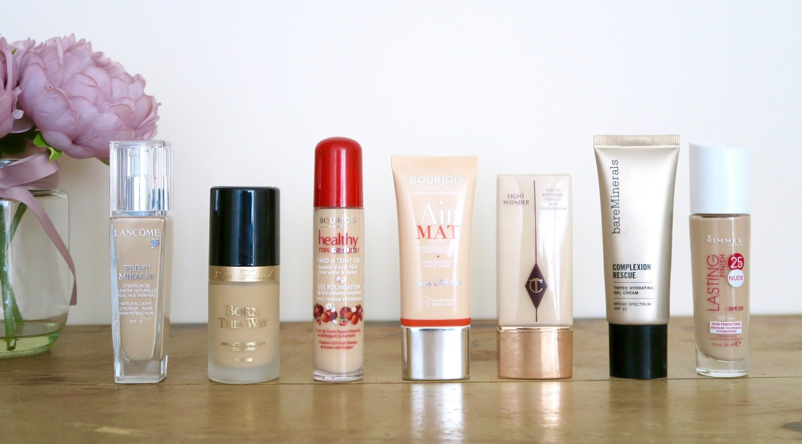 My 7 holy grail foundations