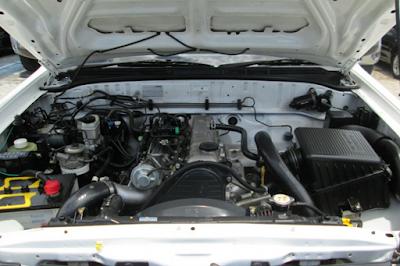 Foto Mesin Mazda BT-50