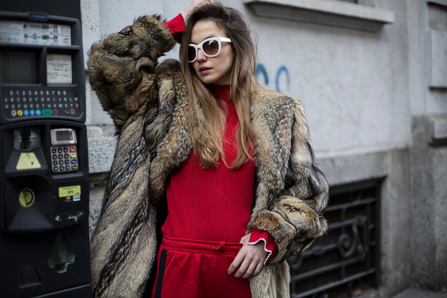 street style fur