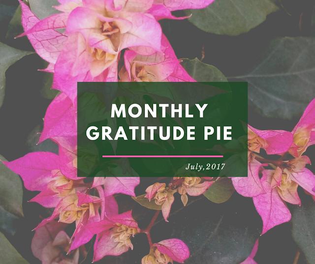 Monthly Gratitude Pie