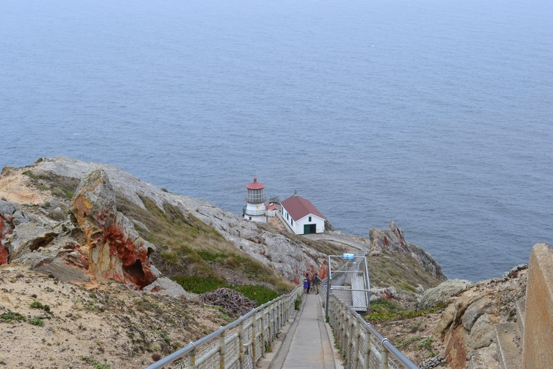 Point Reyes, Californie, côte