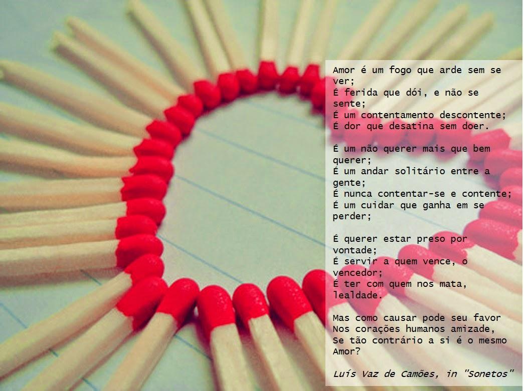 Frases De Sempre Amor é Fogo Que Arde Sem Se Ver