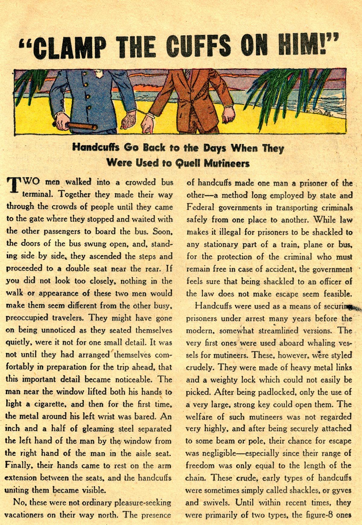 Read online Detective Comics (1937) comic -  Issue #203 - 31
