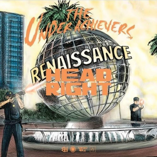 The Underachievers - Head Right - Single Cover